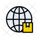 Online Delivery Cargo Icon