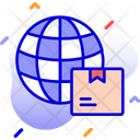 International Delivery Delivery Global Icon