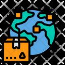 International Delivery International Delivery Icon