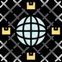 International Worldwide Transport Icon