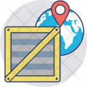 International Delivery Logistics Icon