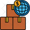 International Delivery Charge Icon
