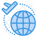 International Departure Icon