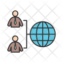International Employee Globally Icon