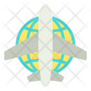 International Flight Plane Icon