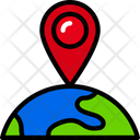 Location Global Logistics Icon