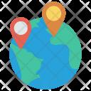 International Map Location Icon
