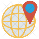 International Location Map Icon