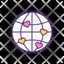 International Love Matching International Love Icon