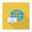 International Mail Earth Mail Icon