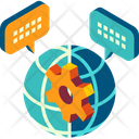 Management Process Worldwide Icon