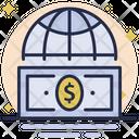 International Money World Wide Business Money Icon