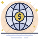International Money Global Business Business Icon
