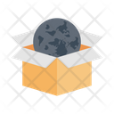 Global Parcel Online Icon