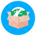 Global Package Global Parcel Logistics Icon