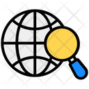 International Search Global Search Global Exploration Icon