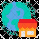 International Shop Icon