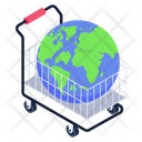 Worldwide Shopping Global Shopping Shopping Icon