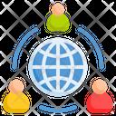 Social Network Connection Social Media Icon