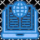Global World Book Icon