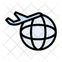 Flight Transport Global Icon