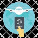 International Travel Traveling Icon