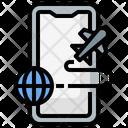 International Traveling Icon