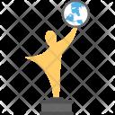 International Award Trophy Icon