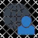Global Profile Account Icon