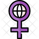 International Women Day Icon