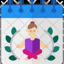 International Yoga Day V Icon