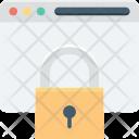 Internet Security Lock Icon