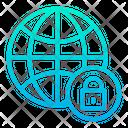 Secure Internet Lock Secure Icon