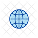 Internet Connection Global Icon