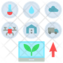 Internet Farming Information Icon