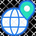 Internet World Wide Web Location Icon