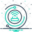 Internet Access Connection Icon