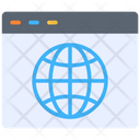 Internet Web Page Browser Icon