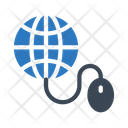 Online Global Mouse Icon