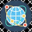 Internet Globe Internet Server Icon