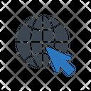 Online Internet Cursor Icon