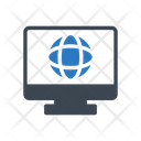Global Online Support Icon
