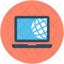 Internet Connection Globe Icon