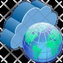 Cloud Computing Network Icon