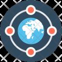 Internet Globe Server Icon