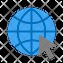Internet Global Planet Icon
