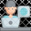 Internet Network Communication Icon