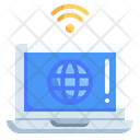 Internet Of Things Setting Wifi Icon
