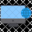 Internet Computer Online Icon
