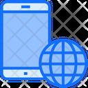 Internet Mobile Internet Mobile Icon
